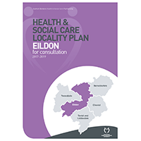 Photo of front cover of Eildon plan