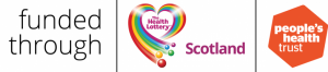 Health Lottery Scotland and People's Health Trust logos